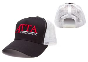 5-Panel Mesh Back Cap with Plastic Closure