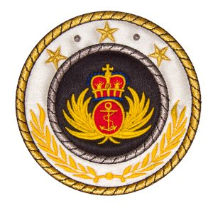 Patches with Metallic Threads