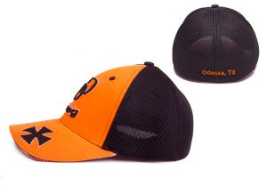 Closed Back Cap with Sports Mesh