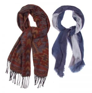 Acrylic Cold Weather Scarves