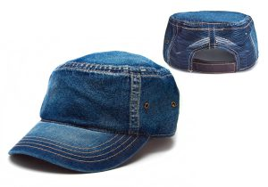 Denim Legion with Hand Brushed Wash, Velcro Closure, side Grommets and Back Mesh inserts
